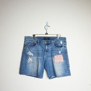 Lucky Brand Roll Up jean Shorts